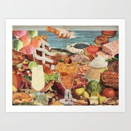 The Smörgåsbord Art Print