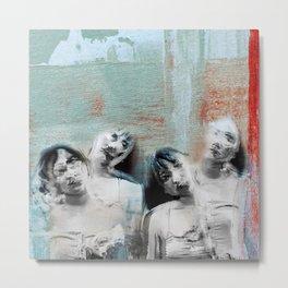 Four shades Metal Print