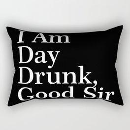 day drunk Rectangular Pillow