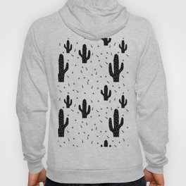 Cactuses abstract modern print simple Hoody