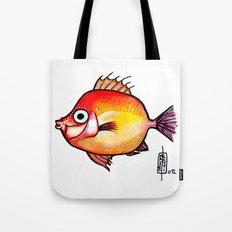 Pesce rosso Tote Bag