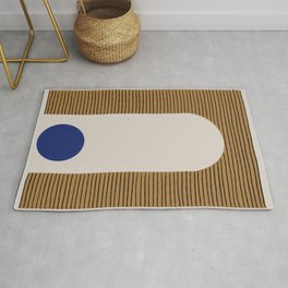 Blue Circle #1 Rug