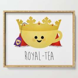Royal-tea Serving Tray