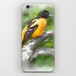 Baltimore Oriole iPhone Skin