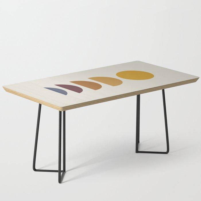 Minimal Sunrise / Sunset Coffee Table