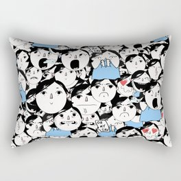 Bobbies Unite Rectangular Pillow
