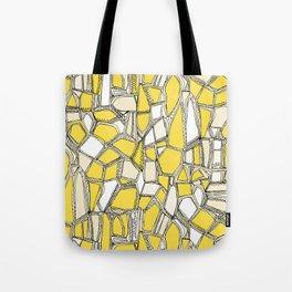 BROKEN POP lemon Tote Bag