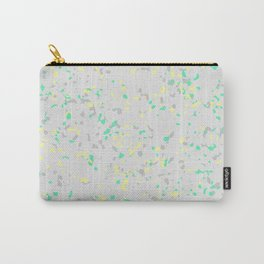 Paint Marble Texture Terrazzo 02 Carry-All Pouch
