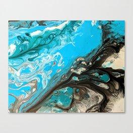 Ocean Granite Canvas Print