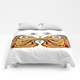 four eyes butterfly (ORIGINAL SOLD). Comforters