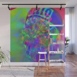 Crystal Face Wall Mural