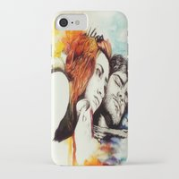 eternal sunshine of the spotless mind iPhone & iPod Cases featuring Eternal Sunshine by Alycia Plank