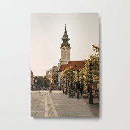 Orthodox church in Sombor, Serbia Metal Print