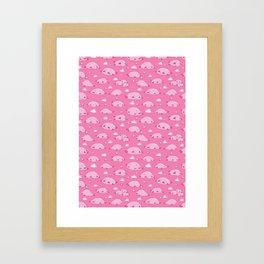 Bulbous Blobfish Framed Art Print