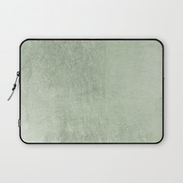 Modern elegant stylish blush green abstract pattern Laptop Sleeve