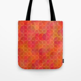 Stained Glass Sunrise Tote Bag