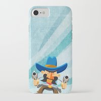 dwight iPhone & iPod Cases featuring Dwight McStetson by Rabassa