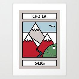 Cho La Art Print