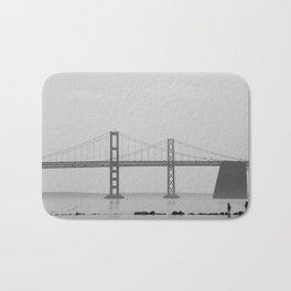 Silent Bridge Bath Mat
