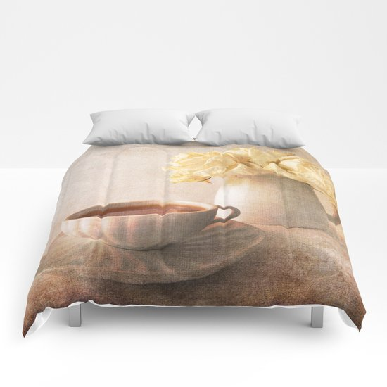 Simply Roses Comforters