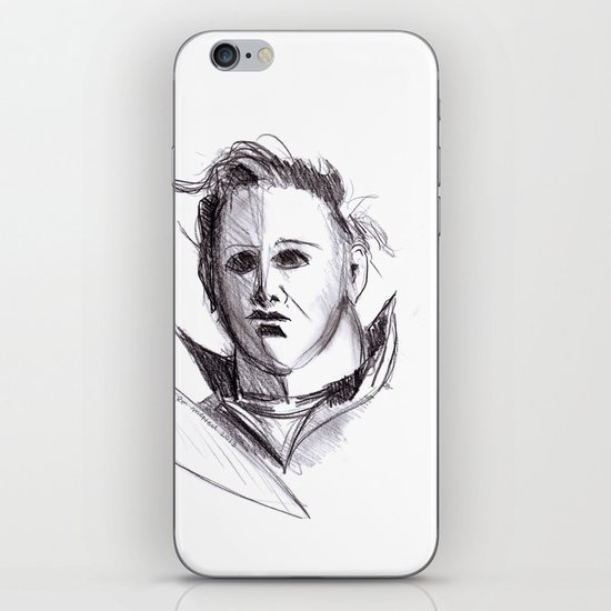 Micheal Myers  iPhone & iPod Skin