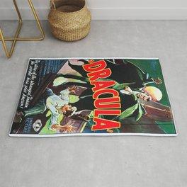Vintage poster - Dracula Rug