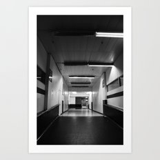 Preston Bus Station Art Print