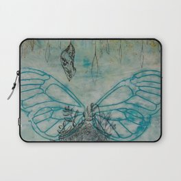 Wings, Nest, and Chrysalis Laptop Sleeve