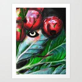 Red Berries Art Print