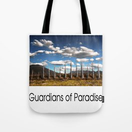 Guardians of Paradise Tote Bag