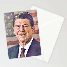 Patriot Ronald Reagan Stationery Cards