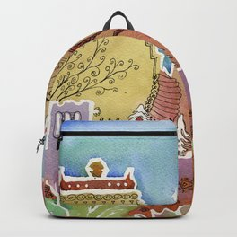 Oxford watercolor #1 Backpack