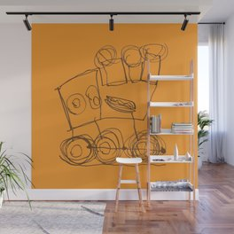Ben's Monster Trucks no.3 Wall Mural