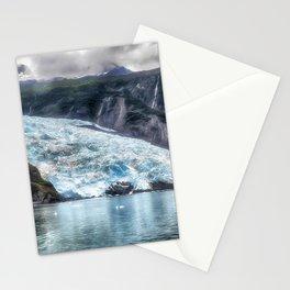 Portage Glacier - Alaska Stationery Cards
