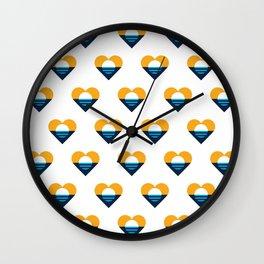 Heart of Milwaukee Wall Clock