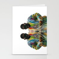 biggie smalls Stationery Cards featuring Biggie Smalls by IFEELFREEDXM