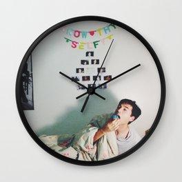 Know Thy Selfy Wall Clock