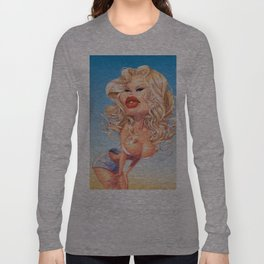 Claudia Schiffer Long Sleeve T-shirt