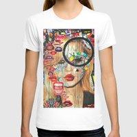 poker T-shirts featuring Poker Face by Katy Hirschfeld