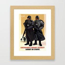 Sporto Propaganda III Framed Art Print