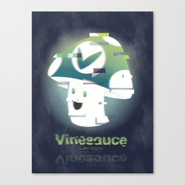 Glitchsauce Canvas Print