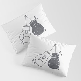 Boxing gloves night and day Pillow Sham