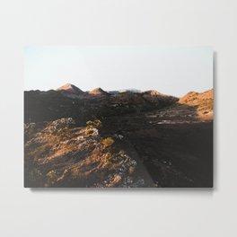 Flinders Ranges Sunset Metal Print