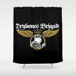 DryBones Brigade Shower Curtain