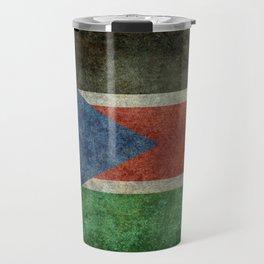 Republic of South Sudan national flag - Vintage version Travel Mug