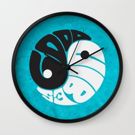 Good Vibes Wall Clock