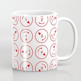 Rotations (Instructions and Code series) Coffee Mug