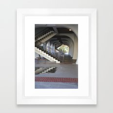 SDSU Framed Art Print