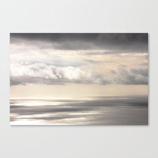 Painterly View - from Funchal Madeira - JUSTART © Canvas Print