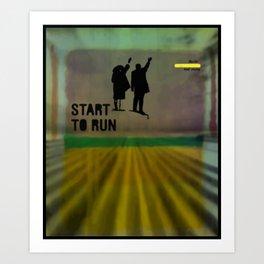 Poster art design Art Print